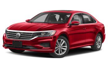 2021 Volkswagen Passat - Aurora Red Chroma