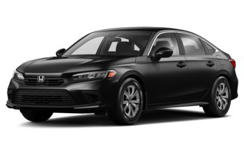 2022 Honda Civic - Crystal Black Pearl