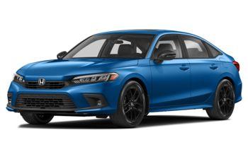 2022 Honda Civic - Aegean Blue Metallic