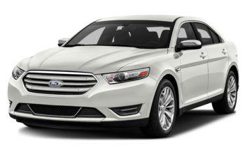2017 Ford Taurus - White Platinum Metallic Tri-Coat