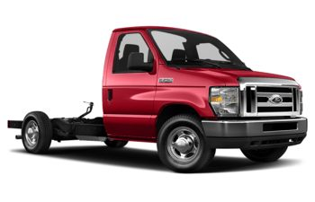 2018 Ford E-350 Cutaway - Race Red