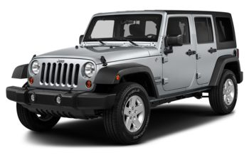 2018 Jeep Wrangler JK Unlimited - Billet Metallic