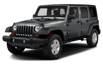 2018 Jeep Wrangler JK Unlimited - Granite Crystal Metallic