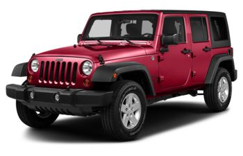 2018 Jeep Wrangler JK Unlimited - Firecracker Red