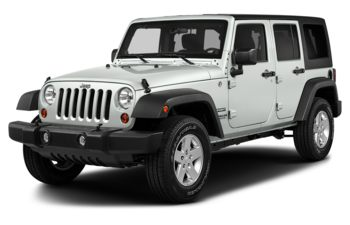 2018 Jeep Wrangler JK Unlimited - Bright White