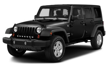 2018 Jeep Wrangler JK Unlimited - Black