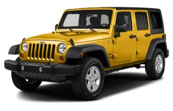 2018 Jeep Wrangler JK Unlimited - Baja Yellow