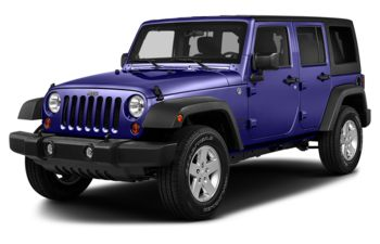 2018 Jeep Wrangler JK Unlimited - Xtreme Purple Pearl