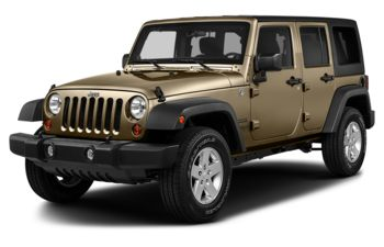 2017 Jeep Wrangler Unlimited - Gobi