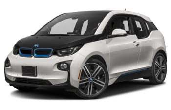 2017 BMW i3 - Capparis White w/BMW i Frozen Blue Accent