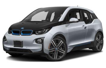 2017 BMW i3 - Ionic Silver Metallic w/BMW i Frozen Blue Accent