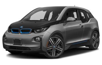 2017 BMW i3 - Platinum Silver Metallic w/BMW i FrozenBlue Accent