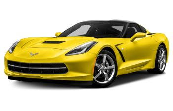 2017 Chevrolet Corvette - Corvette Racing Yellow Tintcoat