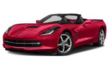 2018 Chevrolet Corvette - Torch Red