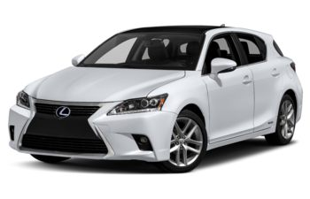 2017 Lexus CT 200h - Ultra White With Black Roof