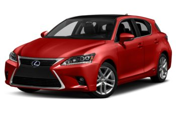 2017 Lexus CT 200h - Redline with Black Roof