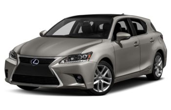 2017 Lexus CT 200h - Atomic Silver with Black Roof
