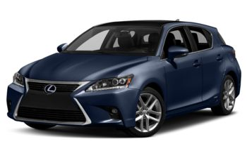 2017 Lexus CT 200h - Nightfall Mica with Black Roof