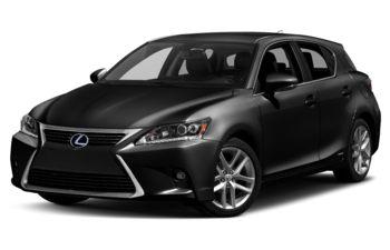 2017 Lexus CT 200h - Obsidian
