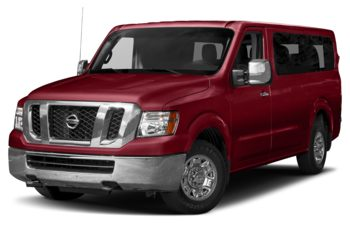 2017 Nissan NV Passenger NV3500 HD - Cayenne Red Metallic