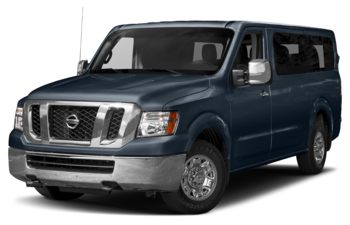2017 Nissan NV Passenger NV3500 HD - Arctic Blue Metallic