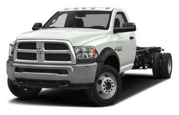 2018 RAM 3500 Chassis Cab 4491 kg (9900 lb) GVWR - N/A