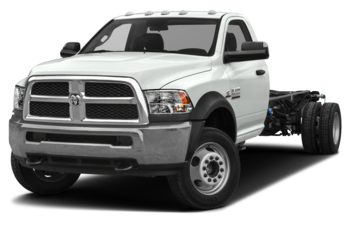 2018 RAM 3500 Chassis Cab 4491 kg (9900 lb) GVWR - Bright White