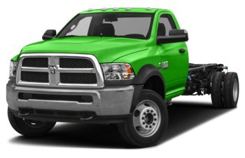 2018 RAM 3500 Chassis Cab 4491 kg (9900 lb) GVWR - Green Angel