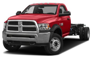 2018 RAM 3500 Chassis Cab 4491 kg (9900 lb) GVWR - Bright Red