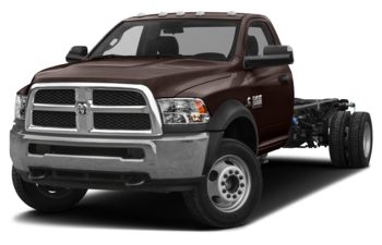 2018 RAM 3500 Chassis Cab 4491 kg (9900 lb) GVWR - Dark Brown