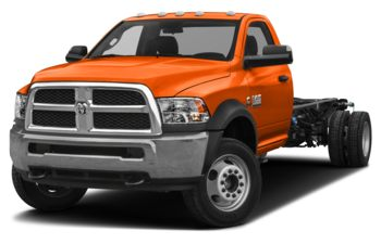 2018 RAM 3500 Chassis Cab 4491 kg (9900 lb) GVWR - Omaha Orange