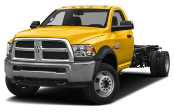 2018 RAM 3500 Chassis Cab 4491 kg (9900 lb) GVWR - Yellow