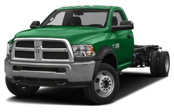 2018 RAM 3500 Chassis Cab 4491 kg (9900 lb) GVWR - Bright Green