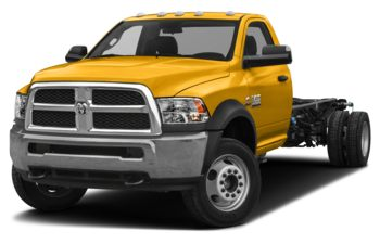 2018 RAM 3500 Chassis Cab 4491 kg (9900 lb) GVWR - Construction Yellow