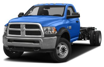 2018 RAM 3500 Chassis Cab 4491 kg (9900 lb) GVWR - New Holland Blue