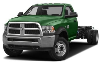 2018 RAM 3500 Chassis Cab 4491 kg (9900 lb) GVWR - Tree Green
