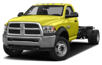 2018 RAM 3500 Chassis Cab 4491 kg (9900 lb) GVWR - National Safety Yellow