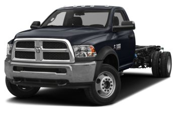 2018 RAM 3500 Chassis Cab 4491 kg (9900 lb) GVWR - Midnight Blue Pearl