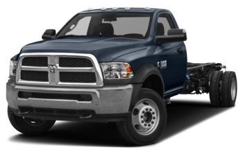 2018 RAM 3500 Chassis Cab 4491 kg (9900 lb) GVWR - True Blue Pearl