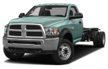 2018 RAM 3500 Chassis Cab 4491 kg (9900 lb) GVWR - Light Green