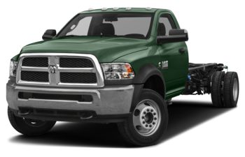 2018 RAM 3500 Chassis Cab 4491 kg (9900 lb) GVWR - Timberline Green Pearl
