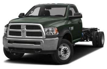 2018 RAM 3500 Chassis Cab 4491 kg (9900 lb) GVWR - Black Forest Green Pearl