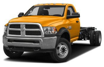 2018 RAM 3500 Chassis Cab 4491 kg (9900 lb) GVWR - School Bus Yellow