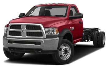 2018 RAM 3500 Chassis Cab 4491 kg (9900 lb) GVWR - Flame Red