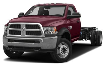 2018 RAM 3500 Chassis Cab 4491 kg (9900 lb) GVWR - Red Pearl