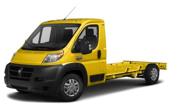 2018 RAM ProMaster 3500 Cutaway - Broom Yellow
