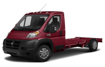2018 RAM ProMaster 3500 Cutaway - Deep Cherry Red Crystal Pearl