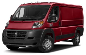 2017 RAM ProMaster 1500 - Flame Red