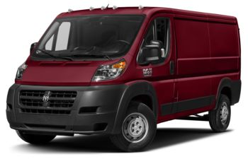 2017 RAM ProMaster 1500 - Deep Cherry Red Crystal Pearl