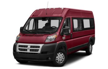 2018 RAM ProMaster 2500 Window Van - Deep Cherry Red Crystal Pearl